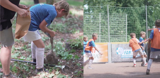 kick for good – environmental protection combined with football